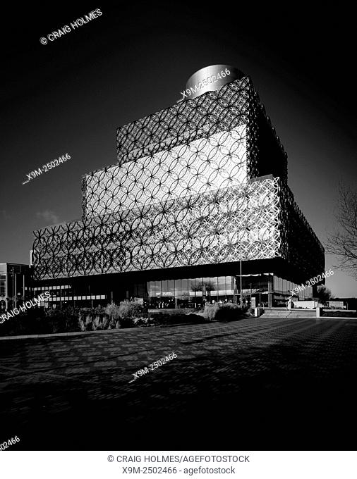 The New Library of Birmingham, Centenary Square, Birmingham