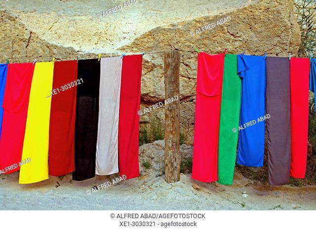 Berber handkerchiefs, souvenir, Tunisia