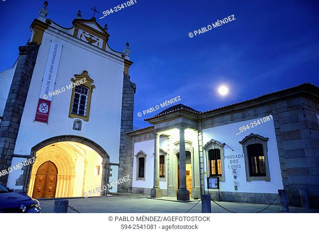 Church of San Joao Evangelista in Evora, Portugal