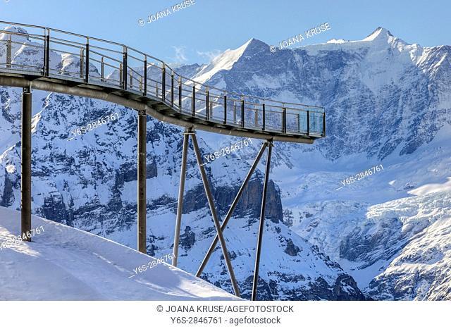First, Cliff Walk, Grindelwald, Berne, Switzerland, Europe