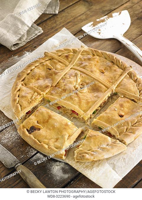 empanada gallega / Galician empanada