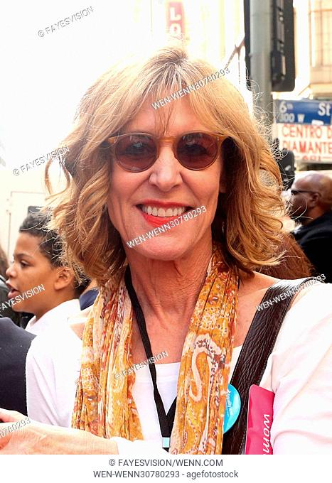 Women's March in Los Angeles, California Featuring: Christine Lahti Where: Los Angeles, California, United States When: 21 Jan 2017 Credit: FayesVision/WENN