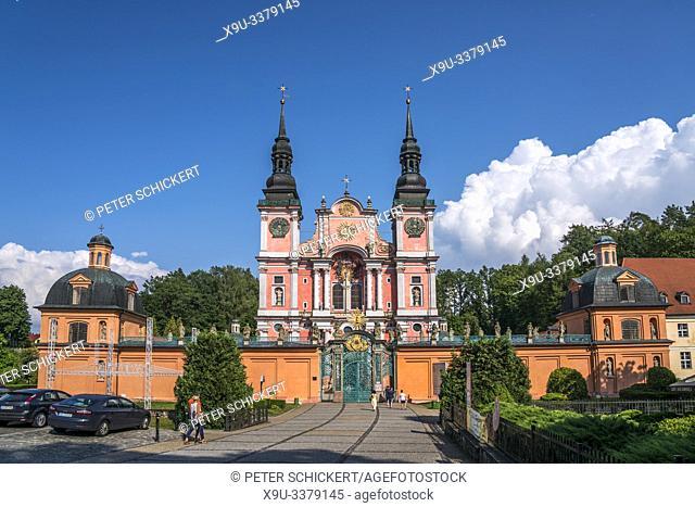 Wallfahrtskirche Heilige Linde / Swieta Lipka, Ermland-Masuren, Polen, Europa | pilgrimage church Our Dear Lady of Swieta Lipka, Warmian-Masurian, Poland