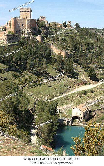 Alarcón castle and old village, Cuenca province, Castile-La Mancha, Spain