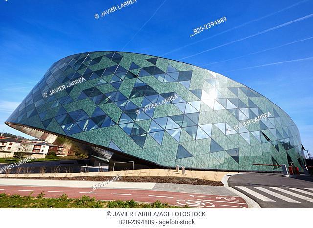 Office building. Orona Ideo building. Galarreta. Hernani. San Sebastian Technology Park. Donostia San Sebastian. Gipuzkoa. Basque Country. Spain