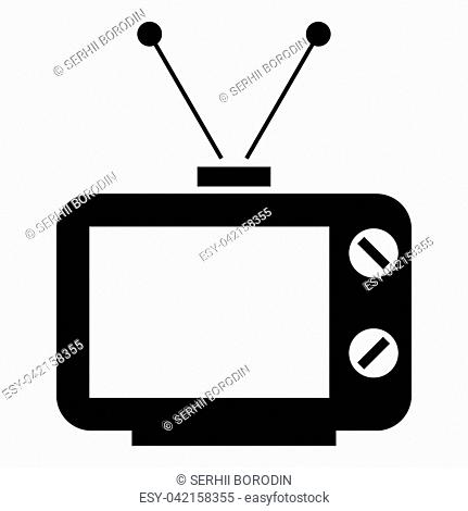 Old Black And White Tv Stock Photos And Images Age Fotostock