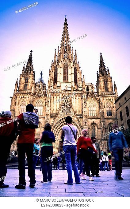 Cathedral of the Holy Cross and Saint Eulalia, also known Barcelona Cathedral