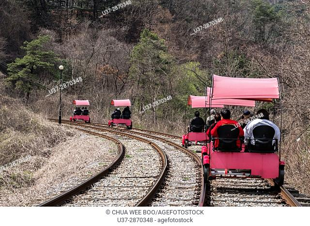 Rail Park, Korea