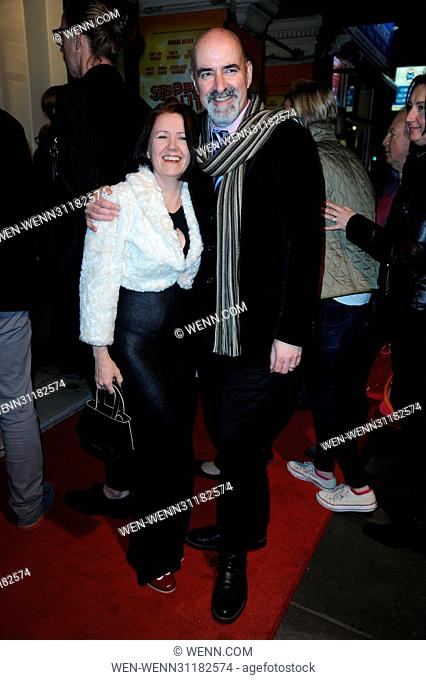 Stepping Out Press Night at Vaudeville Theatre - Arrivals Featuring: Nicholas Briggs Where: London, United Kingdom When: 14 Mar 2017 Credit: WENN.com