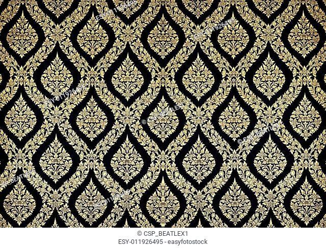 Thai Art Pattern Background