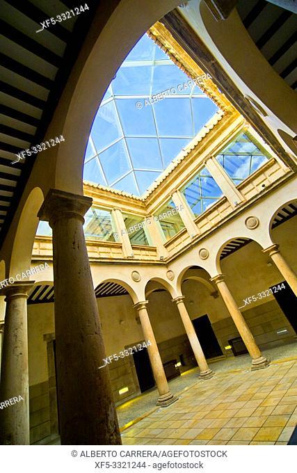 Palace of Los Castejones, 16th Century Civil Architecture, Ágreda, Soria, Castilla y León, Spain, Europe
