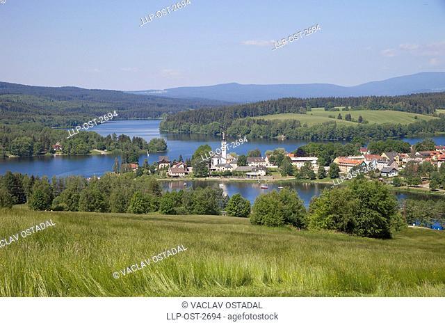 CZ, South Bohemia, township, Frymburk