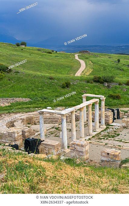 St. Philip Martyrium, Ruins of ancient Hierapolis, Pamukkale, Denizli Province, Turkey
