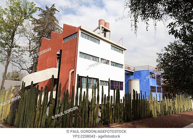 Museo Casa Estudio Diego Rivera y Frida Khalo - Colonia San Ángel, Álvaro Obregón, Mexico City, Federal District, Mexico