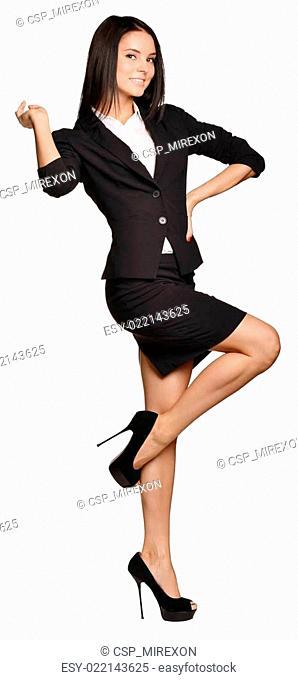 Young women ballet dancer in beautiful dress