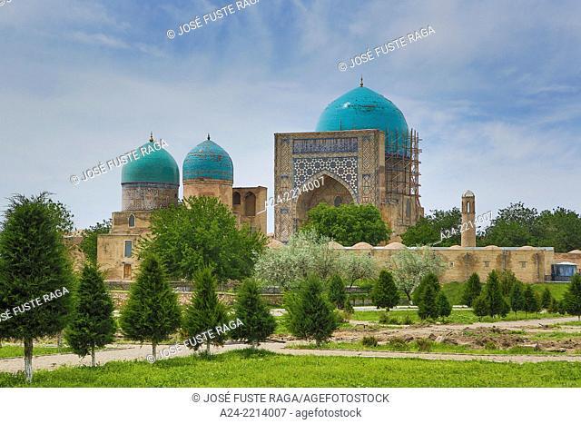 Uzbekistan, Shahrisabz City, Dorut Tilovat Memorial Complex,