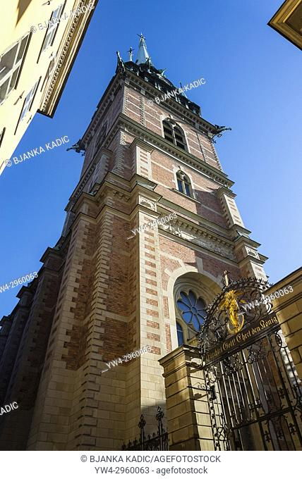 Tyska Kyrkan or German Church in Gamla Stan or Old Town, Stockholm, Sweden