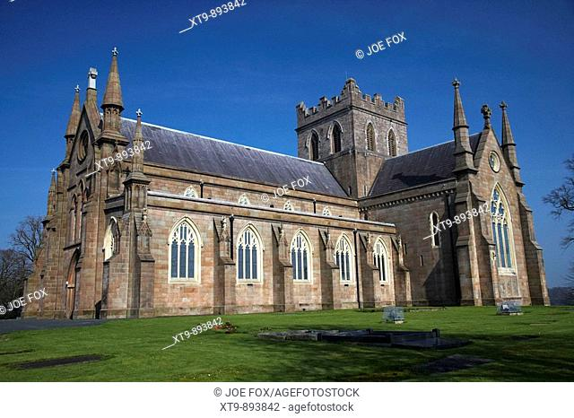 St Patricks Church of Ireland COI protestant cathedral in Armagh City county armagh northern ireland