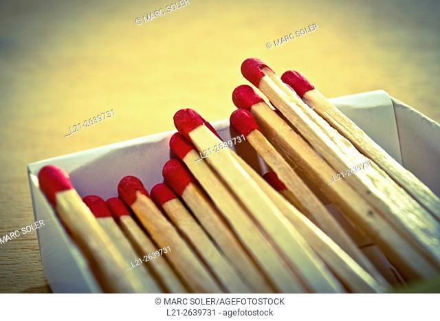 Matchbox, box of matches