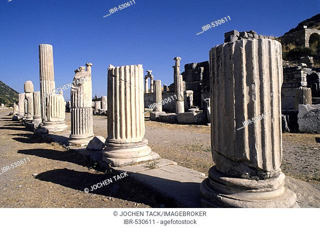 TUR, Turkey, Ephesus : Ancient city of Ephesus.  