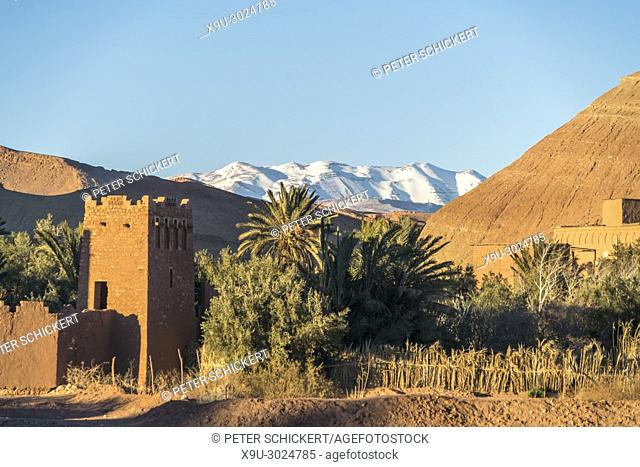 Kasbah Ait-Ben-Haddou Kingdom of Morocco, Africa