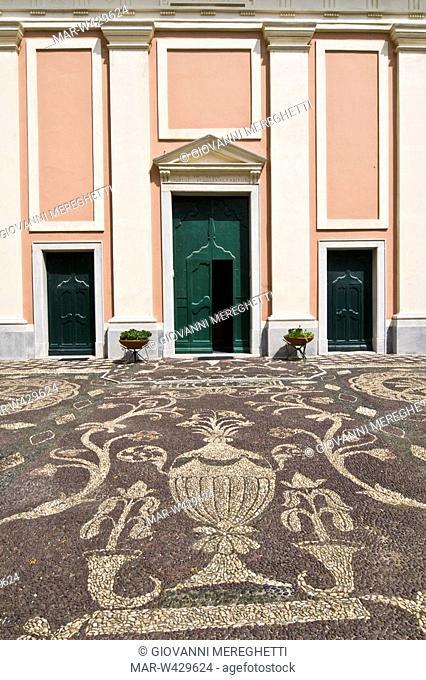 chiesa di santa croce, moneglia, liguria, italia