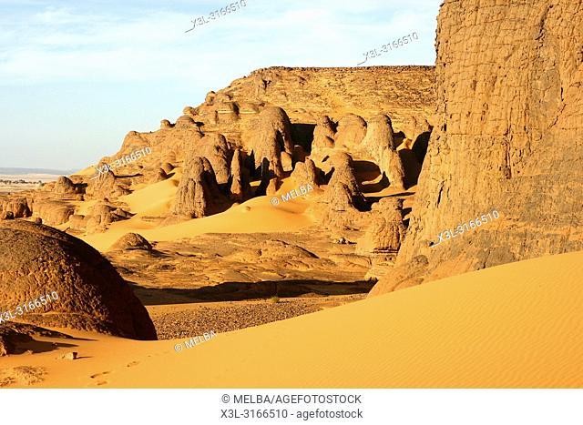 Tagelment Samedat. Tassili Ahaggar. Sahara desert. Algeria