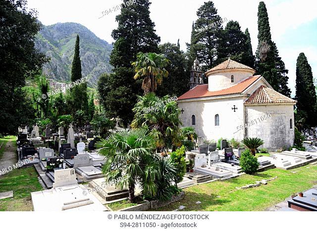Skaljari cemetery, Kotor, Montenegro