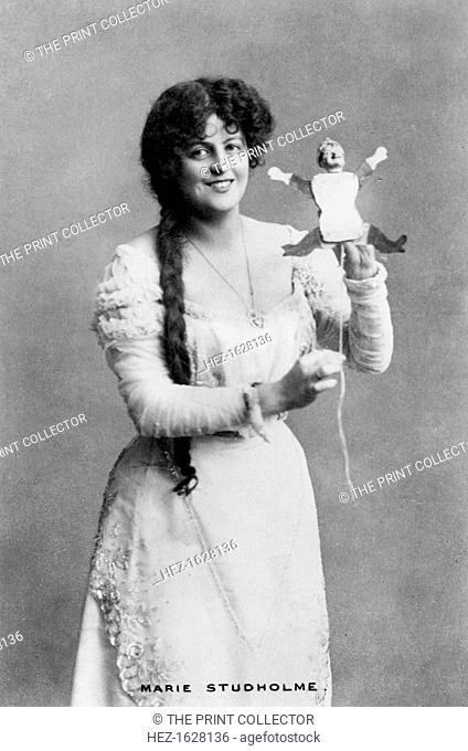 Marie Studholme (1875-1930), English actress, 20th century