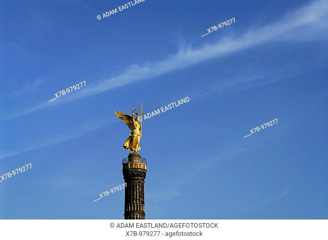 Berlin  Germany  Statue of Victoria Siegessäule Victory Column