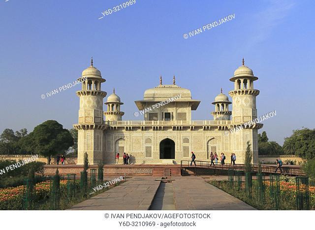 Itmad-ud-Daula, Agra, Uttar Pradesh, India