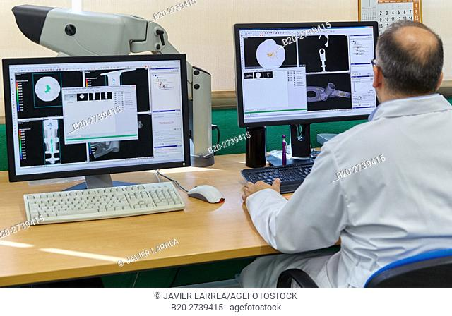 X-ray and CT Inspection for industrial applications. Innovative Metrology applied. Sariki Metrology. Elgoibar. Gipuzkoa. Basque Country. Spain