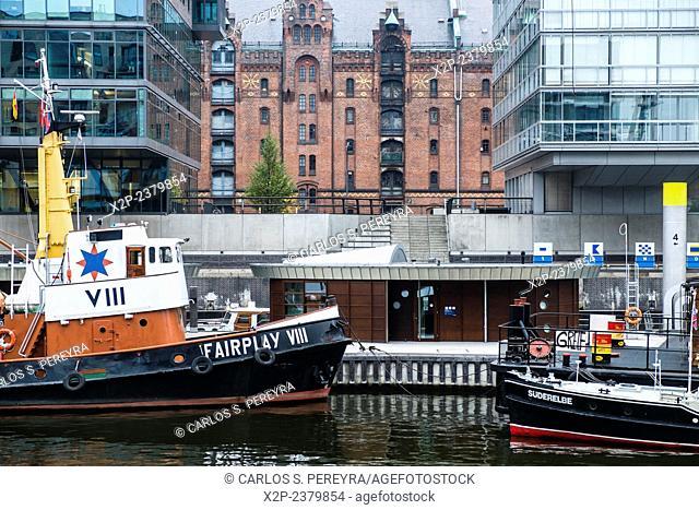 Zone of Hafencity, Hamburg, Germany