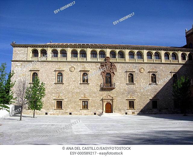 Archbishop' s Palace, Alcala de Henares, Madrid province, Spain
