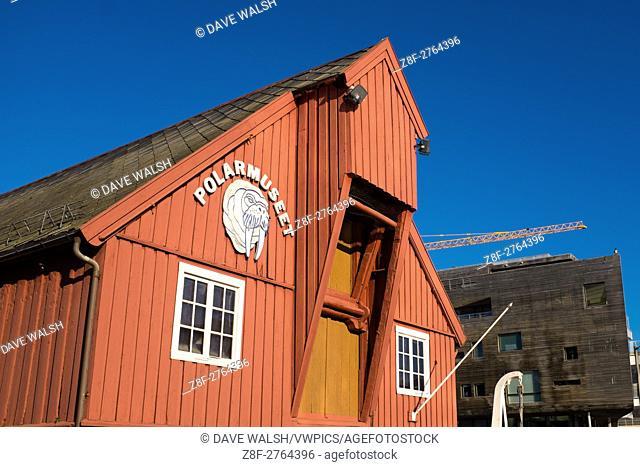 Polar Museum, Tromso, Norway, run by the University of Tromso