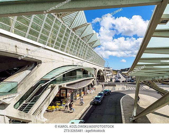 Oriente Train Station, Lisbon, Portugal
