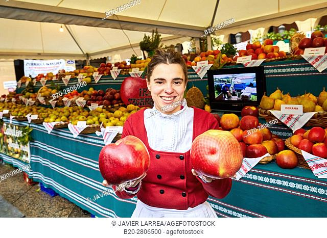 Green Vegetables and Fruits, Feria de Santo Tomás, The feast of St. Thomas takes place on December 21. During this day San Sebastián is transformed into a rural...
