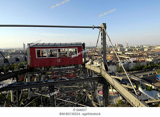 amusement park Vienna Prater, Ferries wheel, Austria, Vienna