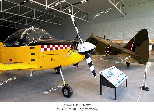 New Zealand, South Island, Christchurch, Royal New Zealand Air Force Museum, Aerospace CT-4B trainer