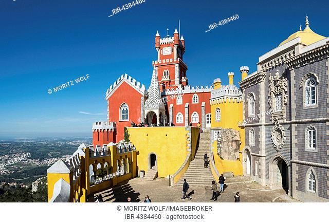 Palácio Nacional da Pena, Pena National Palace, Sintra, Portugal