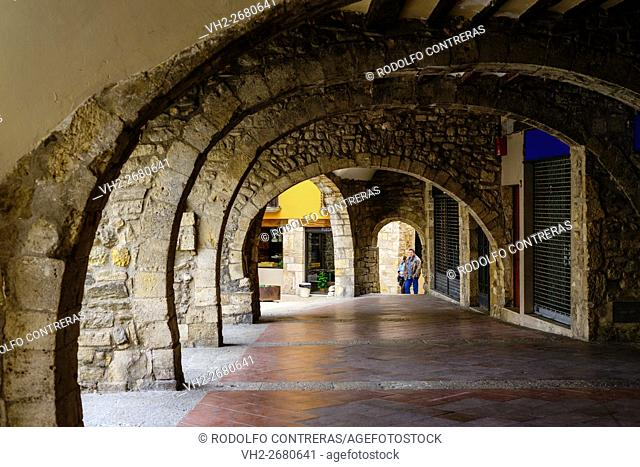 Archway in Besalú