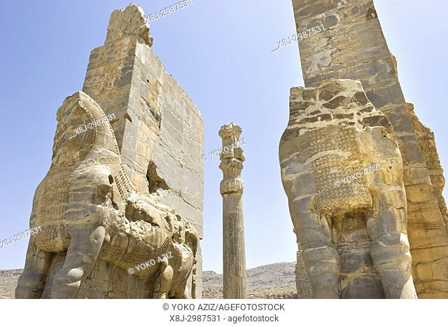 Iran, Persepolis archaeological site