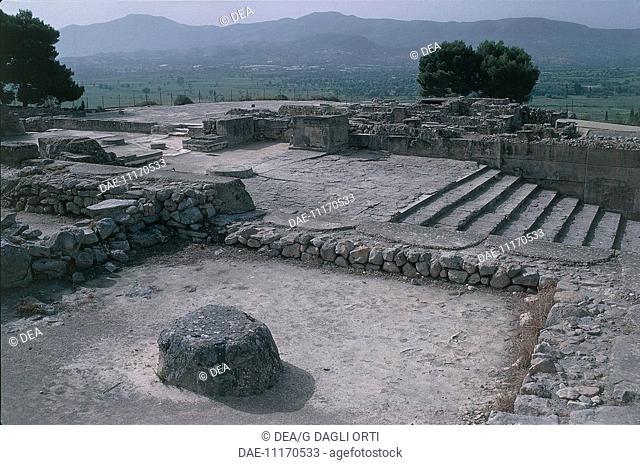 Greece - Crete - Phaistos. Theatre