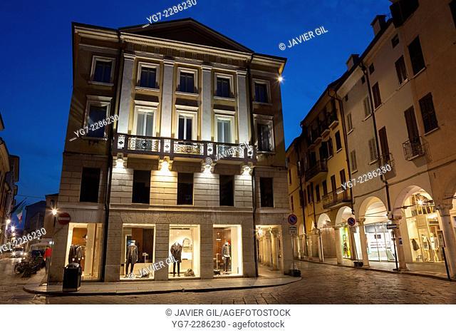 Guglielmo Marconi square, Mantova, Lombardy, Italy