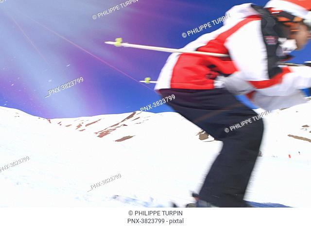 Winter sports, ski