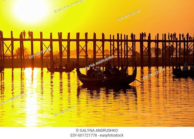 Bridge in Myanmar