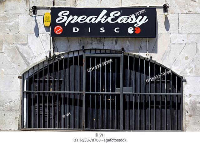 A disco at Gibraltar, British Overseas Territory, England