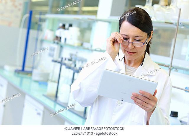 Researcher Laboratory, Research on building materials, Tecnalia Research & Innovation, Zamudio, Bizkaia, Basque Country, Spain