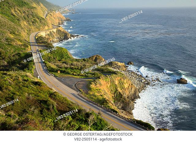 Big Sur Coast Highway Scenic Byway, Los Padres National Forest, California