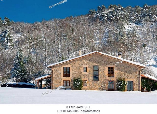 Farmhouse in Olano, Alava, Spain